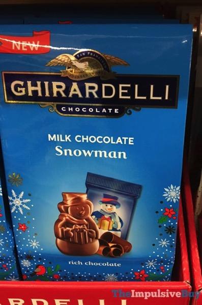 Ghirardelli Milk Chocolate Snowman