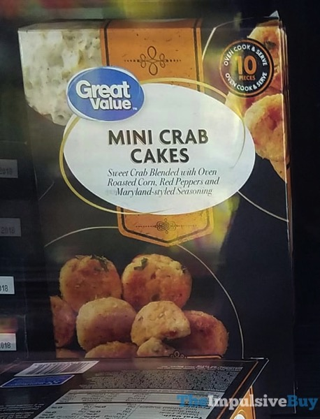 Great Value Mini Crab Cakes