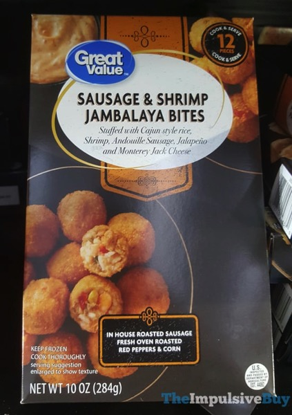 Great Value Sausage  Shrimp Jambalaya Bites