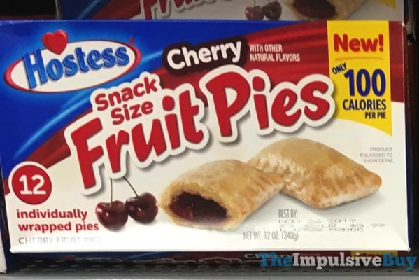 Hostess Cherry Snack Size Fruit Pies