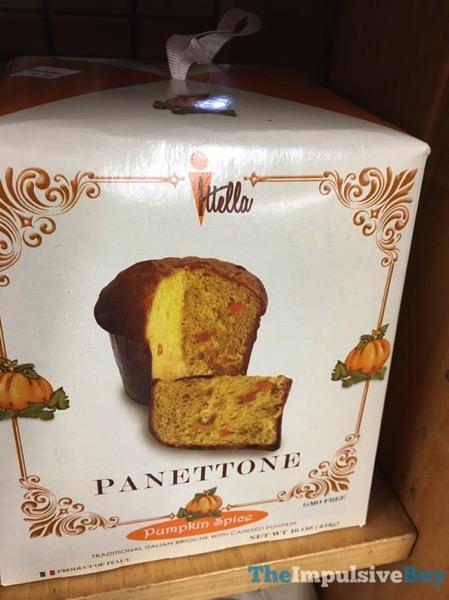 Ittella Pumpkin Spice Panettone  2017