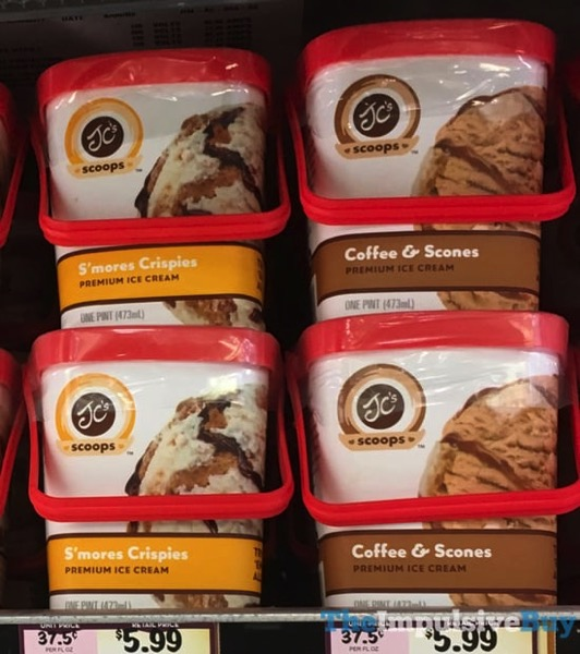 JC s Scoops Premium Ice Cream  S mores Crispies and Coffee  Scones
