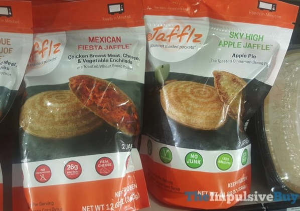Jafflz Mexican Fiesta and Sky High Apple Jaffles
