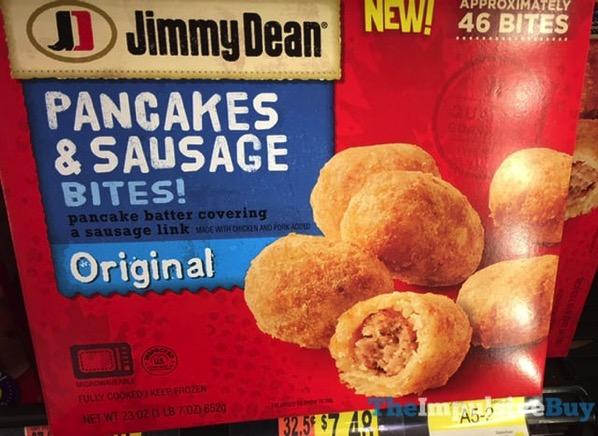 Jimmy Dean Original Pancakes  Sausage Bites