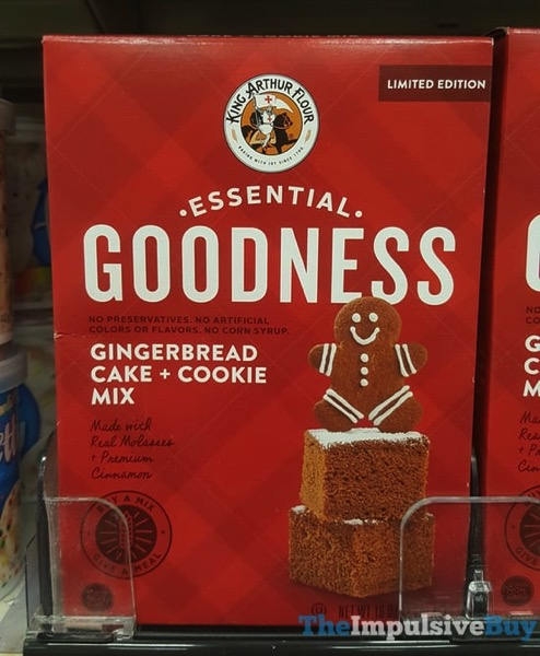 King Arthur Flour Limited Edition Essential Goodness Gingerbread Cake + Cookie Mix