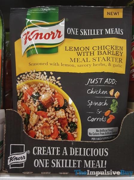 Knorr One Skillet Meals Lemon Chicken with Barley Meal Starter