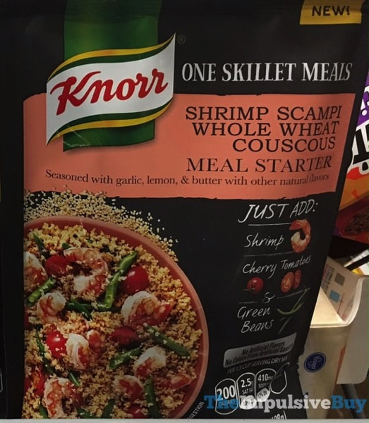 Knorr One Skillet Meals Shrimp Scampi Whole Wheat Couscous Meal Starter