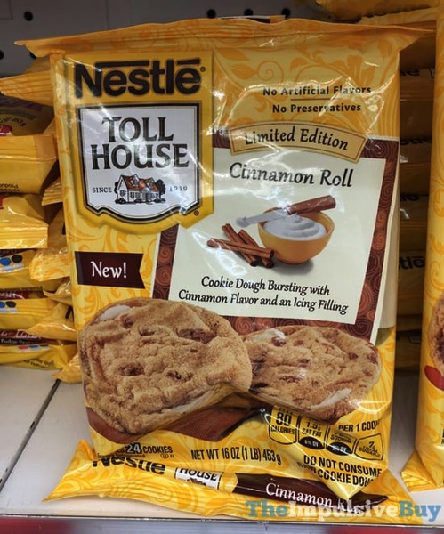 Nestle Toll House Limited Edition Cinnamon Roll Cookie Dough