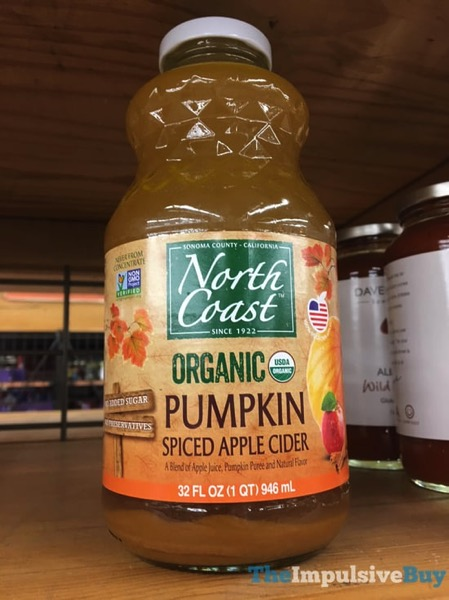 North Coast Organic Pumpkin Spiced Apple Cider  2017