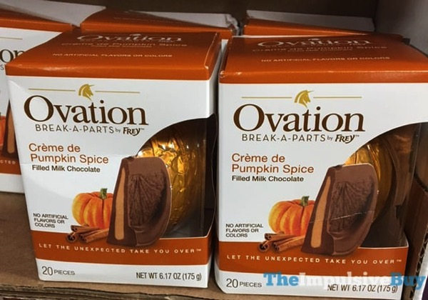 Ovation Break A Parts Creme de Pumpkin Spice  2017 Sylvia at Ralphs