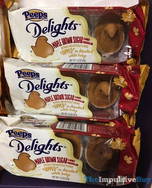 Peeps Delights Maple Brown Sugar