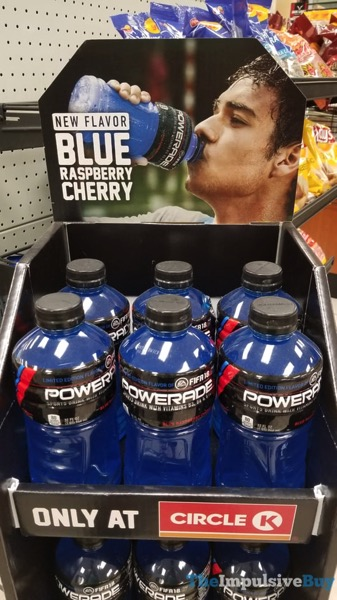 Powerade Blue Raspberry Cherry