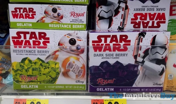 Royal Star Wars Resistance Berry and Dark Side Berry Gelatin