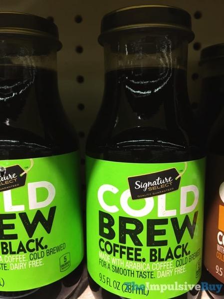 Safeway Signature Select Black Cold Brew Coffee