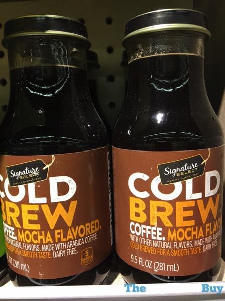 Safeway Signature Select Mocha Cold Brew Coffee
