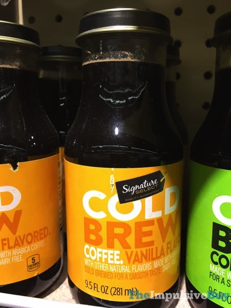 Safeway Signature Select Vanilla Cold Brew Coffee