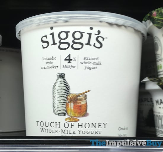Siggi s Touch of Honey Whole Milk Yogurt