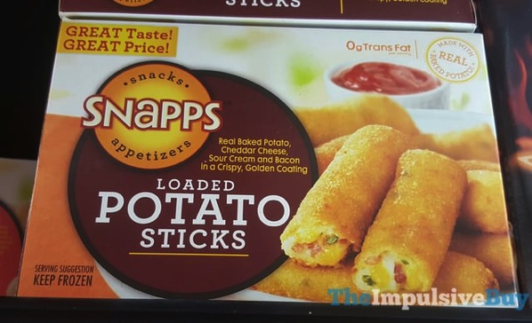 Snapps Loaded Potato Sticks