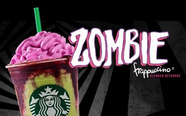 Starbucks Zombie Frappuccino