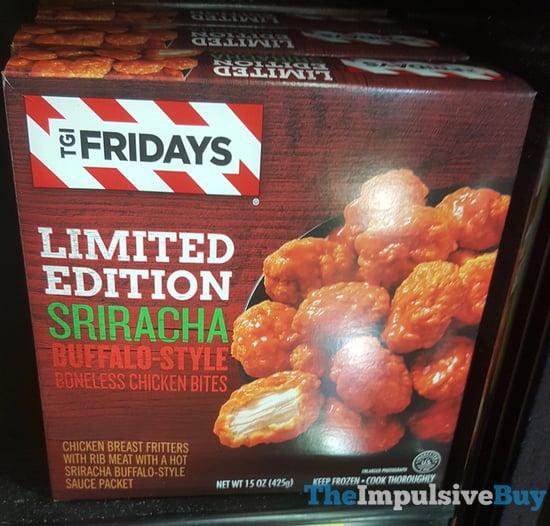 TGI Fridays Limited Edition Sriracha Buffalo Style Boneless Chicken Bites