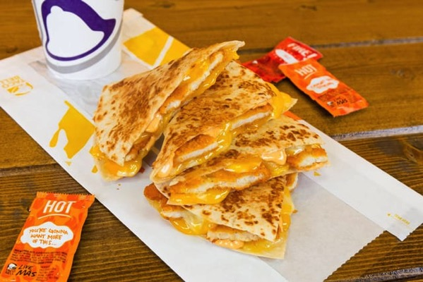Taco Bell Crispy Chicken Quesadilla