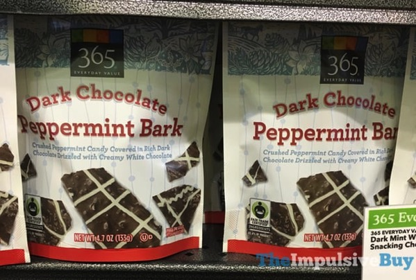 365 Everyday Value Dark Chocolate Peppermint Bark