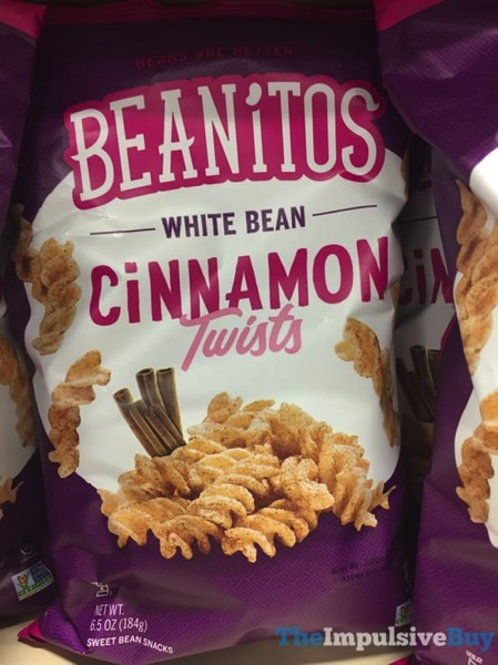 Beanitos White Bean Cinnamon Twists