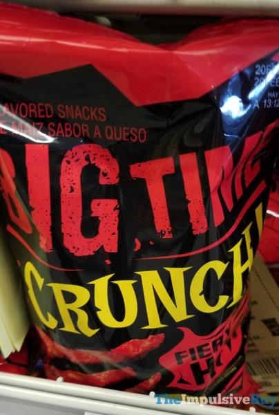 Big Time Crunchy Fiery Hot Crunchy Cheese Snacks