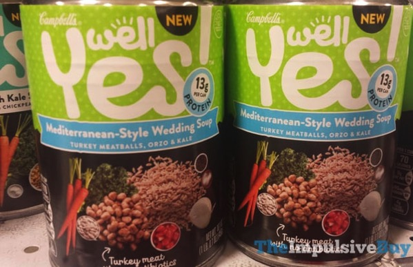 Campbell s Well Yes Mediterranean Style Wedding Soup