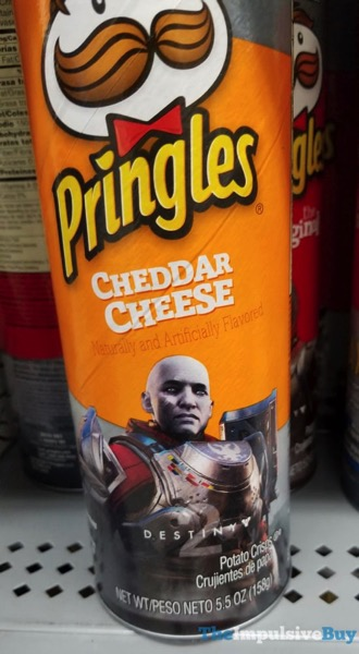Destiny 2 Pringles Can Cheddar Cheese