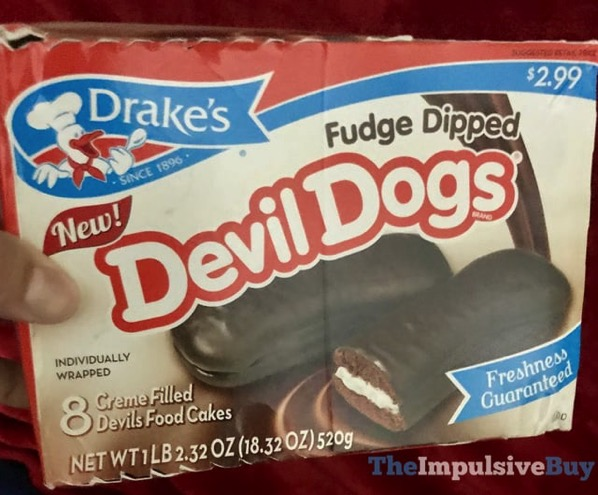 Drake s Fudge Dipped Devil Dogs