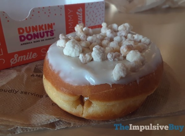 Dunkin Donuts Frosted Sugar Cookie Donut and Gingerbread Cookie Donut 2