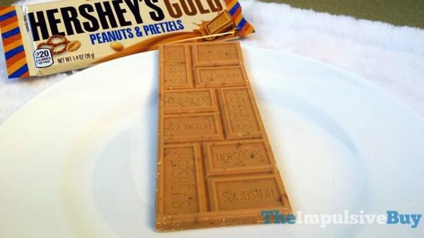 Hershey s Gold Peanuts  Pretzels Bar 3