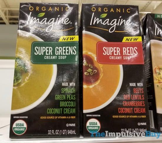 Imagine Super Greens and Super Reds Creamy Soup
