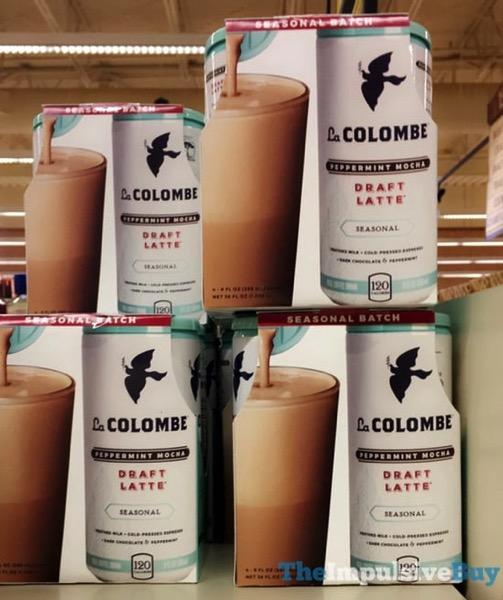 La Colombe Seasonal Batch Peppermint Mocha Draft Latte