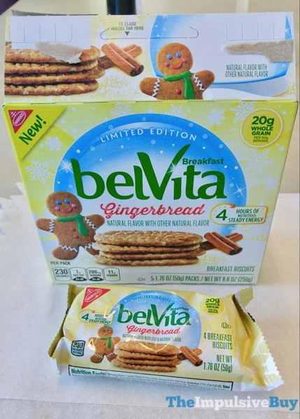 Limited Edition Gingerbread belVita Breakfast Biscuits 2