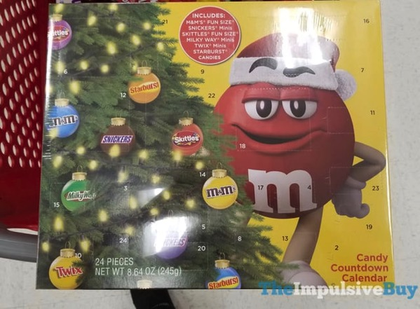Mars Candy Countdown Calendar