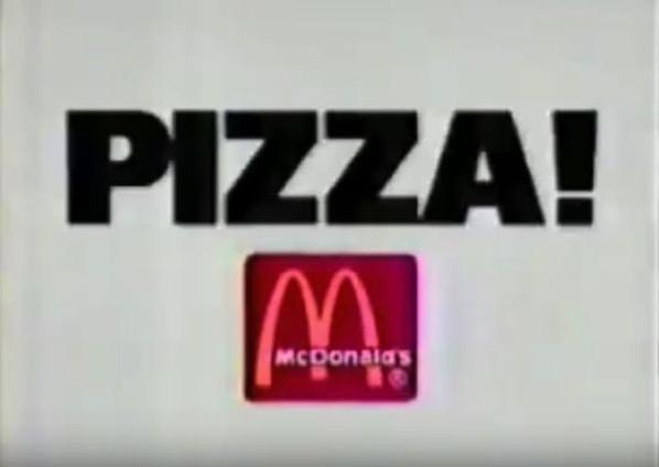 McDonald s Pizza
