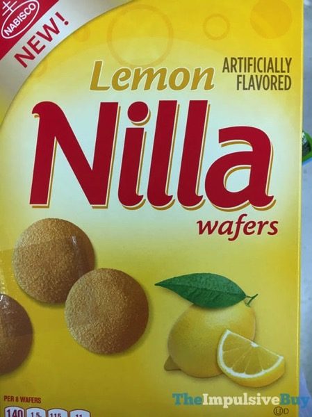 Nabisco Lemon Nilla Wafers