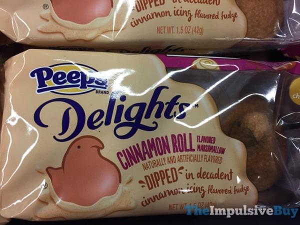 Peeps Delights Cinnamon Roll