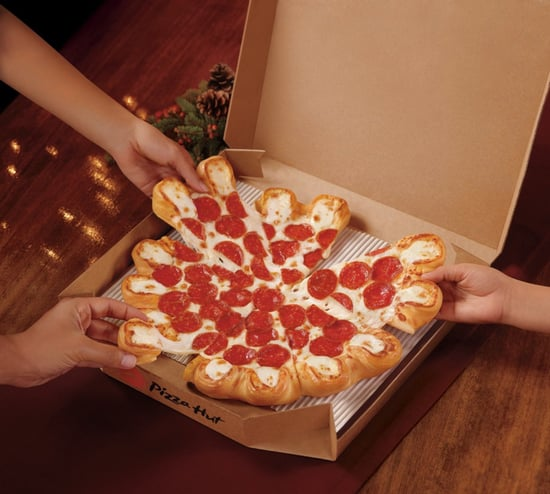 Pizza Hut Ultimate Cheesy Crust Pizza