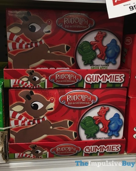 Rudolph The Red Nosed Reindeer Gummies 2017 Version
