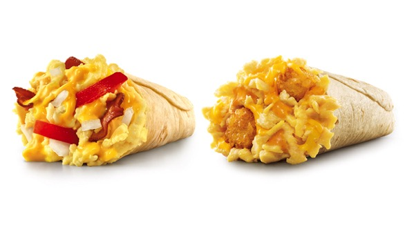 Sonic Lil Breakfast Burritos