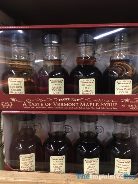 Trader Joe s A Taste of Vermont Maple Syrup