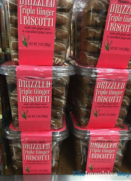 Trader Joe s Drizzled Triple Ginger Biscotti