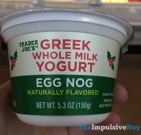 Trader Joe s Egg Nog Greek Whole Milk Yogurt