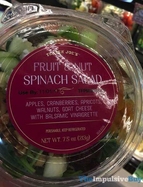 Trader Joe s Fruit  Nut Spinach Salad
