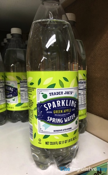 Trader Joe s Green Apple Sparkling Spring Water