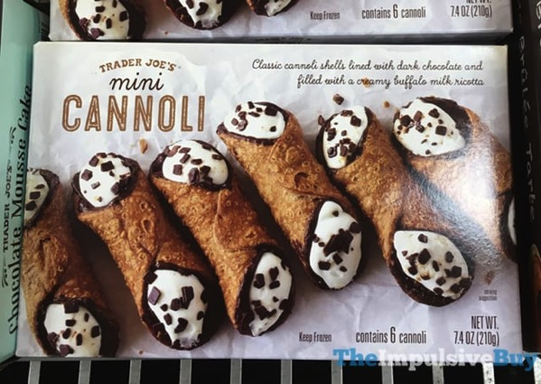Trader Joe s Mini Cannoli