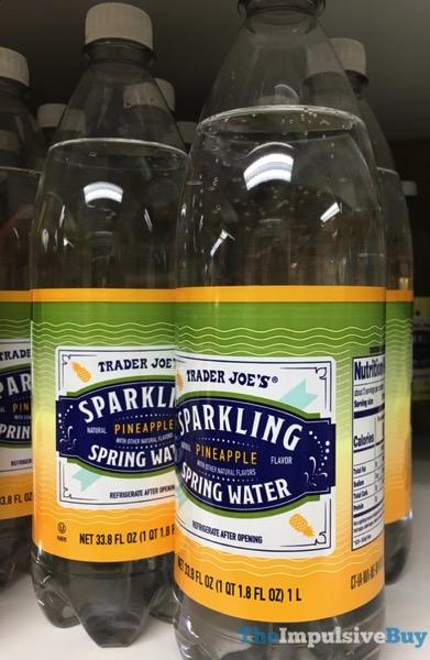 Trader Joe s Pineapple Sparkling Spring Water